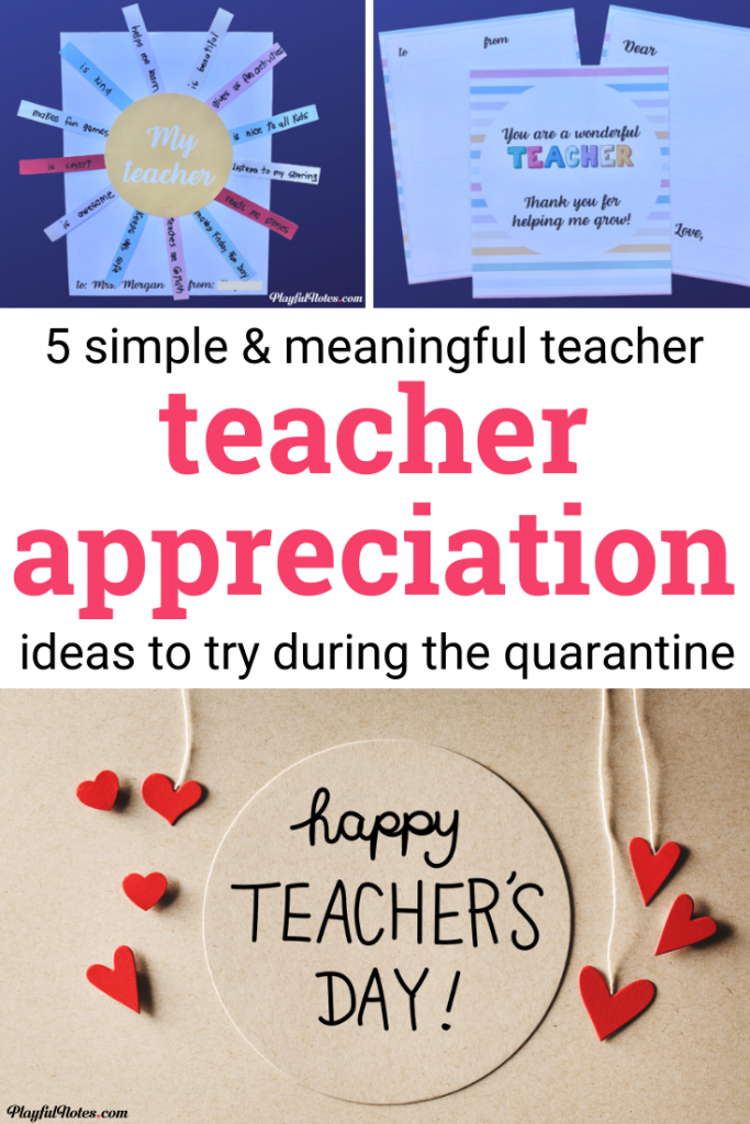 Virtual teacher appreciation ideas: Discover simple and meaningful ideas to try during teacher appreciation week to show gratitude to your child's teachers.