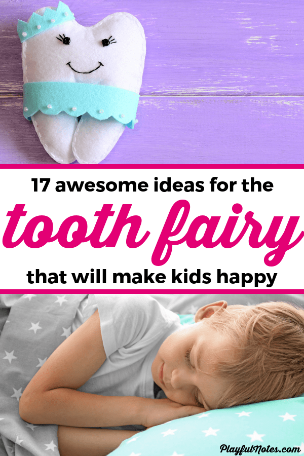 These ideas are awesome! Discover 17 great tooth fairy ideas that will help you create a wonderful tradition that your kids will love! You'll get all the inspiration you need to make the tooth fairy's visit memorable and fun! --- Tooth fairy printable | Tooth fairy for boys | Tooth fair traditions | Advice for moms #ToothFairy #MomLife #AdviceForMoms