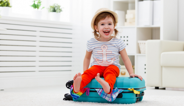 This is the best way to make long trips with young kids easier and more fun