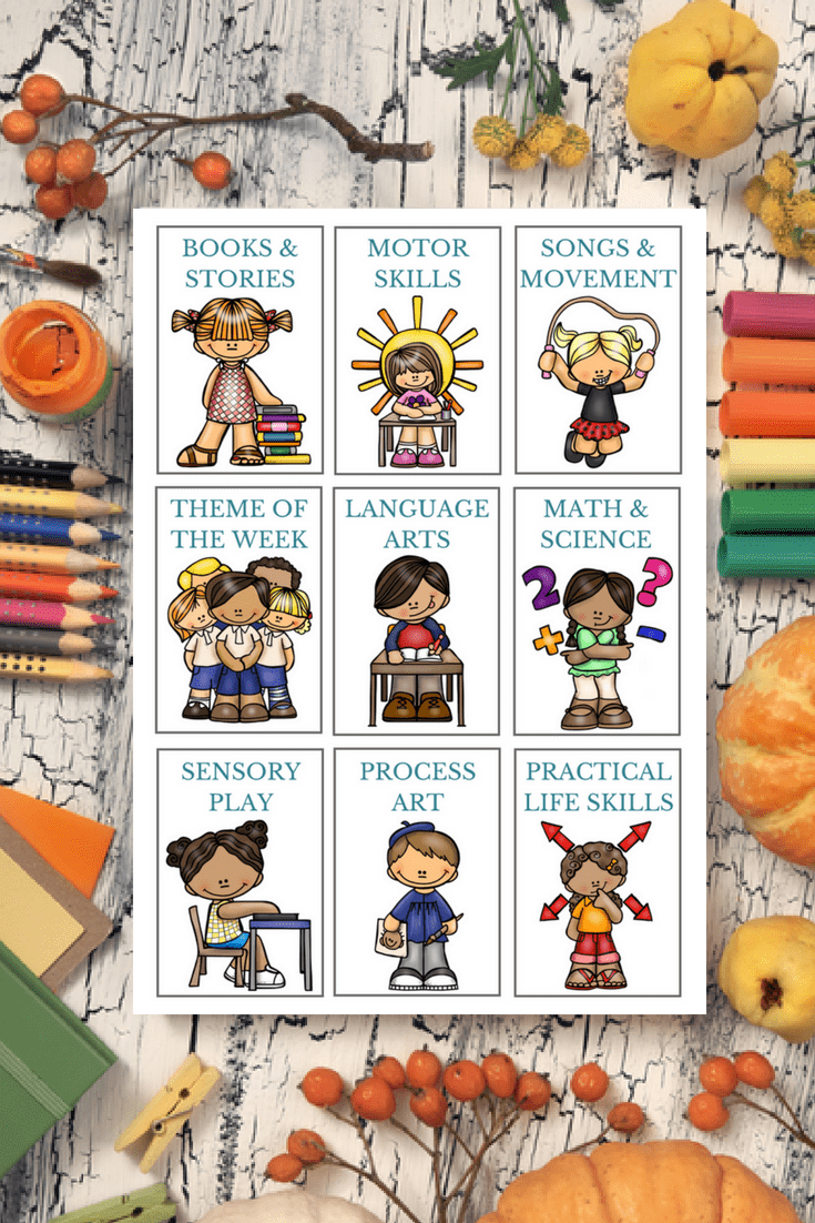 visual schedule cards for kids
