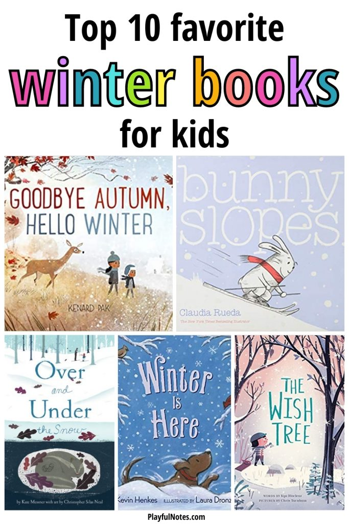 our top 10 favorite winter books for kids