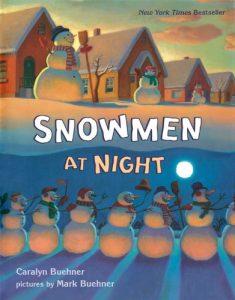 winter books for kids Snowmen at Night